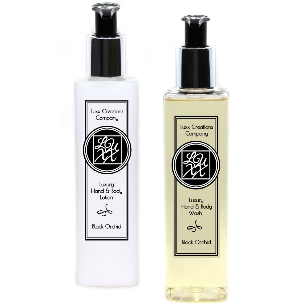 Black Orchid - Luxury Soap & Lotion (250ml each)
