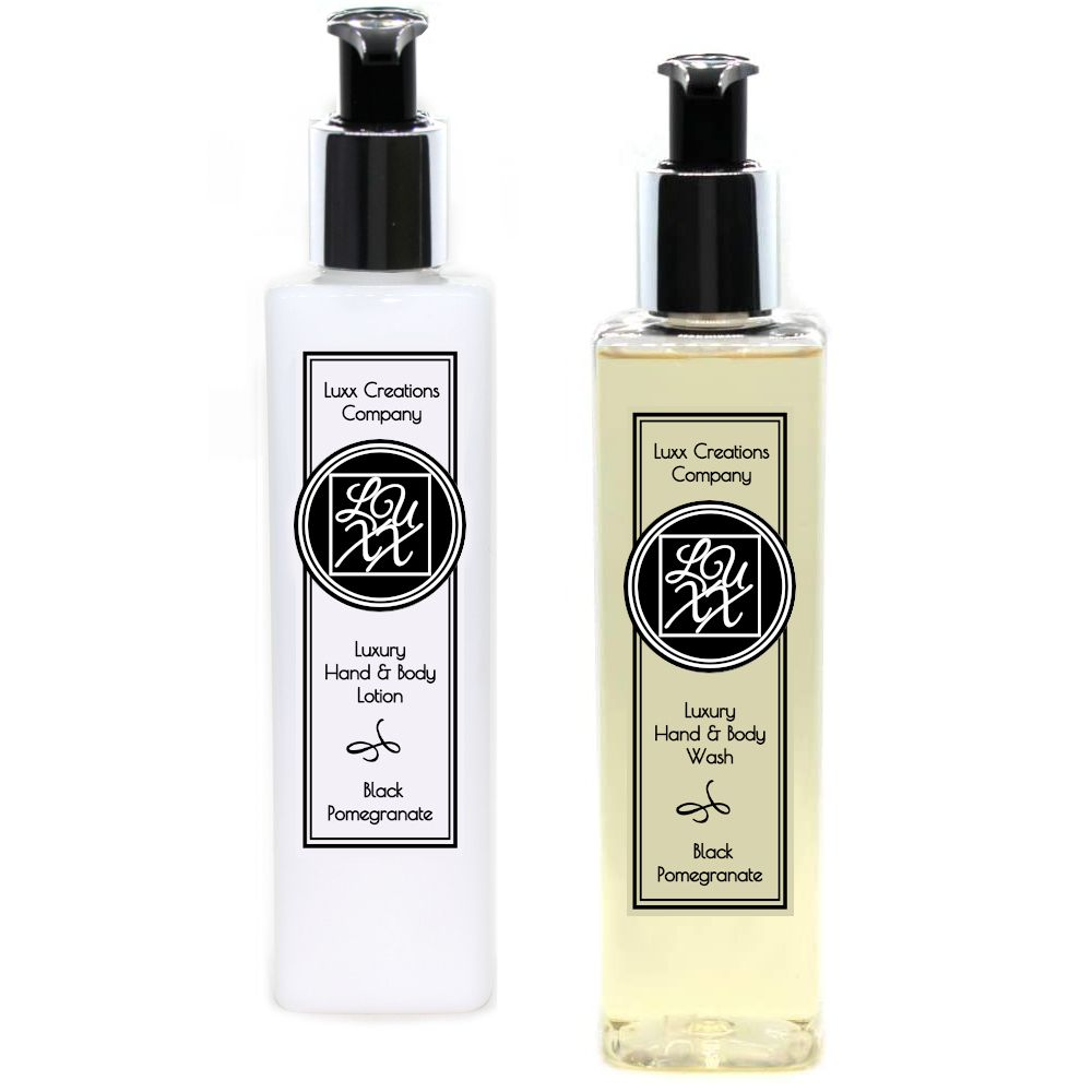 Black Pomegranate - Luxury Hand Soap & Lotion (250ml each)