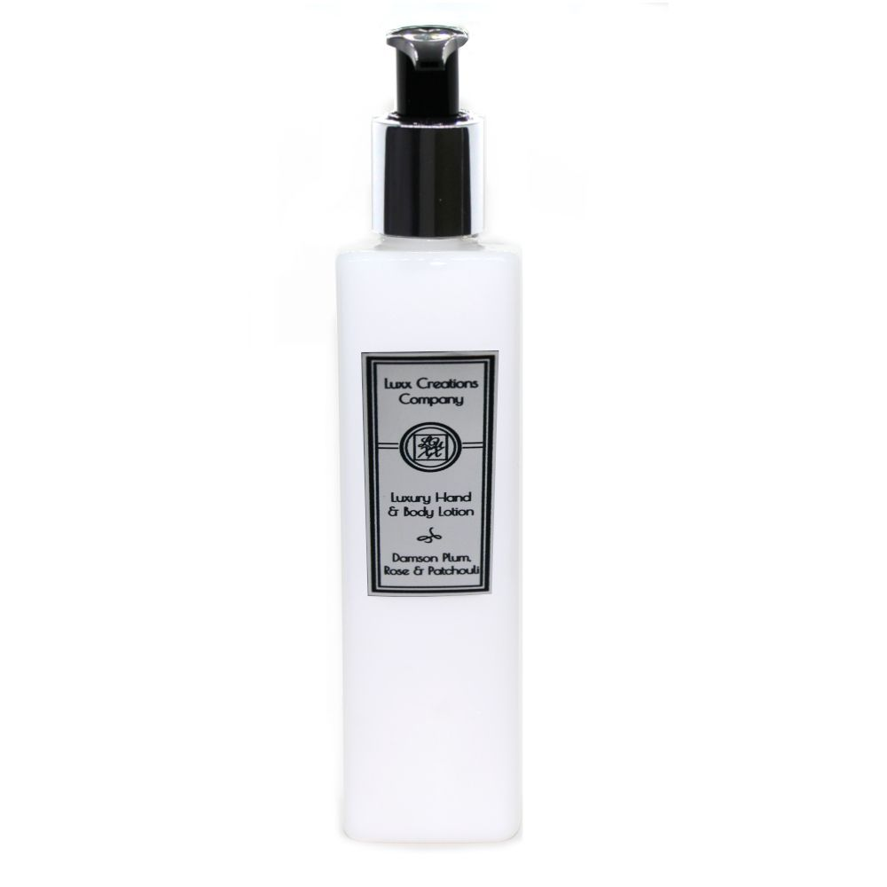 Damson Plum, Rose & Patchouli Luxury Hand & Body Lotion - 250ml