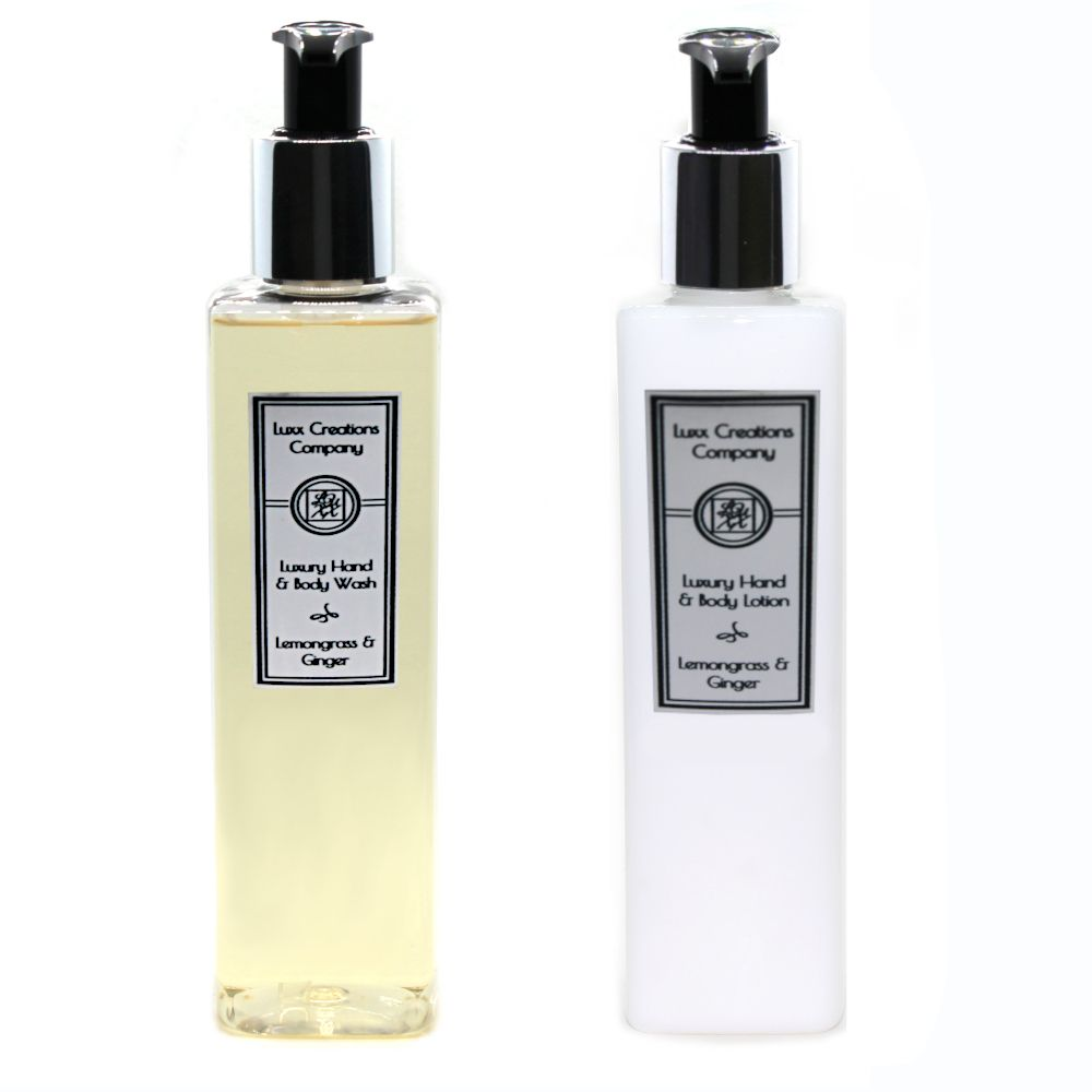 Lemongrass & Ginger - Luxury Hand Soap & Lotion (250ml each)