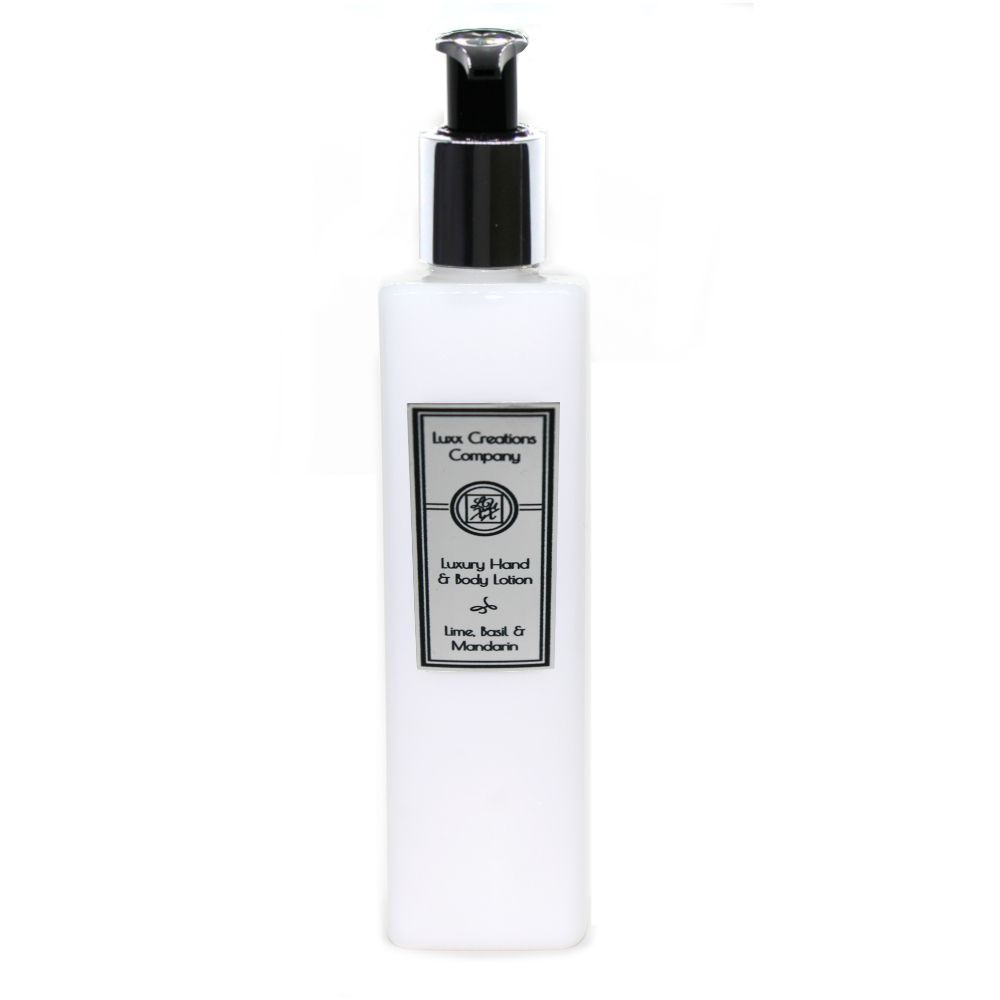 Lime, Basil & Mandarin Luxury Hand & Body Lotion - 250ml