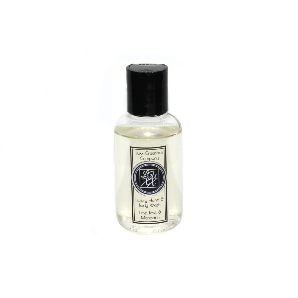 Lime, Basil & Mandarin Luxury Travel Hand & Body Wash 60ml