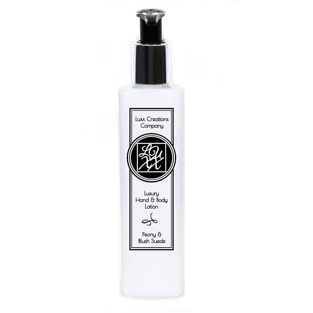 Peony & Blush Suede Luxury Hand & Body Lotion 250ml