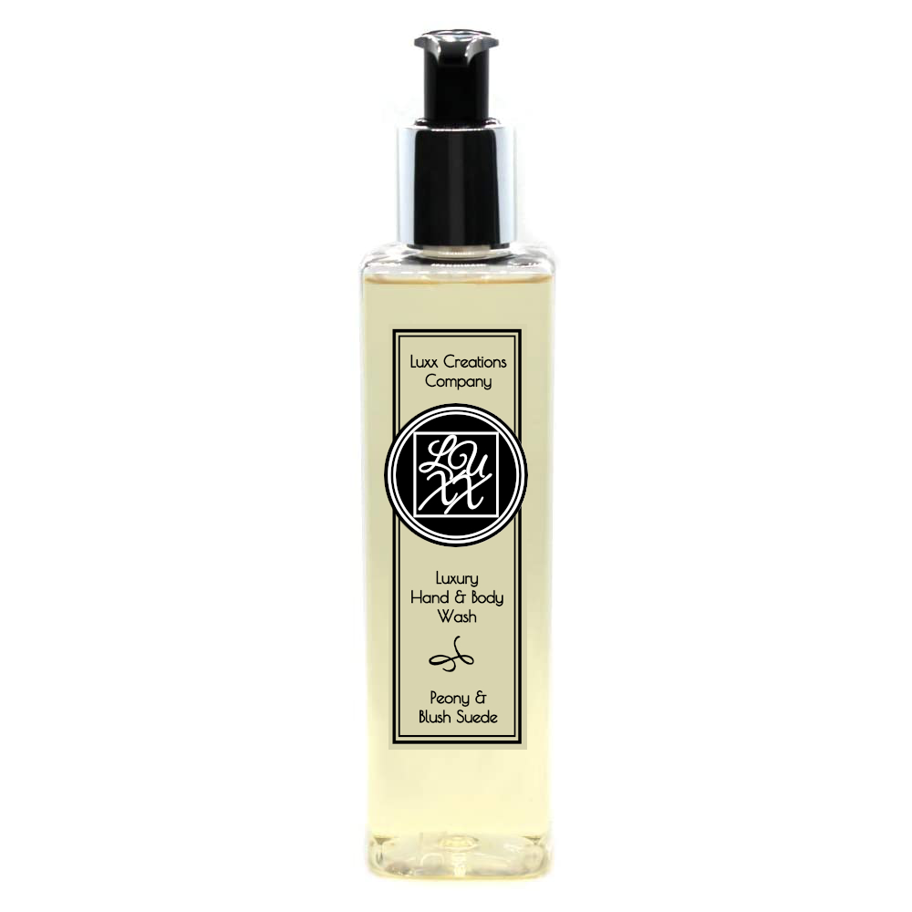 Peony & Blush Suede Luxury Hand & Body Wash - 250ml