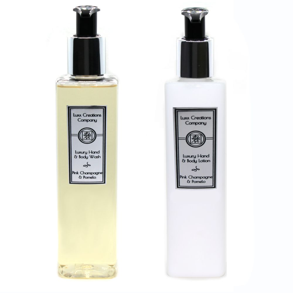 Pink Fizz & Pomelo - Luxury Hand Soap & Lotion (250ml each)