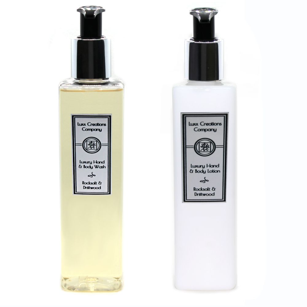 Rocksalt & Driftwood - Luxury Hand Soap & Lotion (250ml each)